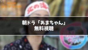 【無料】朝ドラ『あまちゃん』見逃し動画を無料視聴する方法(1話〜最終回を全話フル配信)