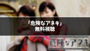 【無料】ドラマ『危険なアネキ』見逃し動画を無料視聴する方法(1話〜最終回を全話フル配信)